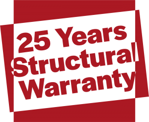 25 years Warranty with HS Trade East Midlands