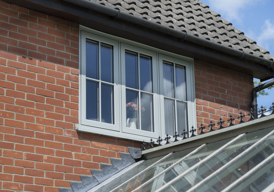 uPVC window and door manufacturer - East midlands - green