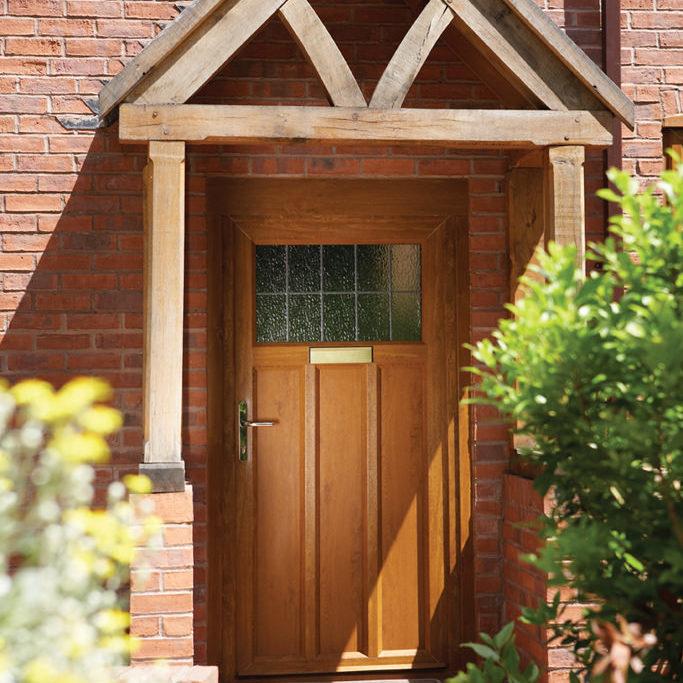 HS trade upvc doors brown door swish fabricator for installers east midlands