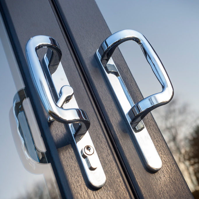 upvc doors close up hs trade fabricator swish upvc doors for installers east midlands